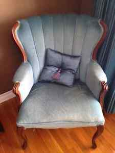 Antique chair and cushion in great condition