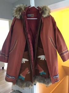 Ladies parka - handcrafted up North