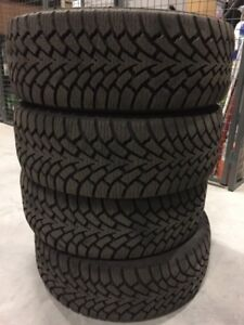 One Set of Four 17-inch Goodyear Winter Tires