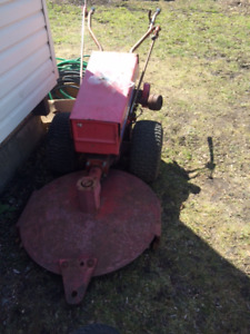 Gravely Bush Hog