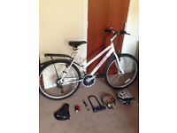 """Ladies Probike Escape 20"""" Hybrid with All Accessories"""