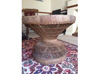 Rattan coffee table for sale