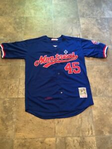 New Pedro Martinez Montreal Expos Jersey Medium Large MLB