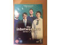 The Inbetweeners Series 1,2&3 as new unused box set.