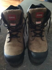 young man  or  Womens' Aggressor Steel-Toe Workboots