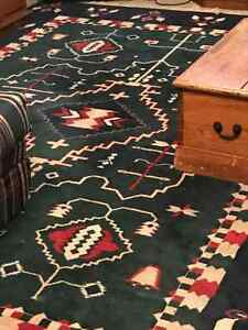 Capel carpet in tribal pattern