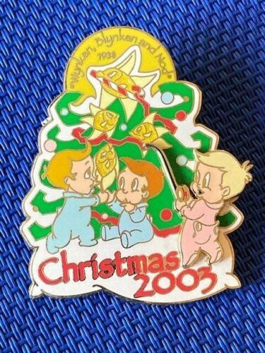 Disney DLR - 2003 Christmas Babies Wynken, Blynken & Nod Pin LE 750