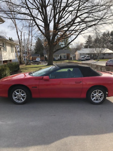 2001 Chevrolet Camero Z28 Convertible MINT CONDITION