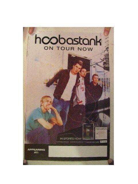 Hoobastank Poster On Tour Band Shot