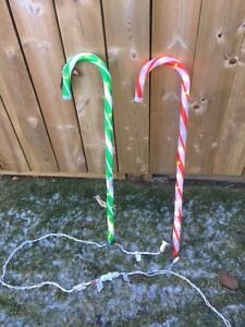 Christmas Star / Candy Cane Lights (Retailed $50!!)