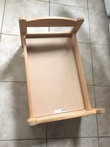Kids Doll Bed - Solid Wood