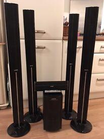 Xenta 5.1 Surround Sound Speaker System