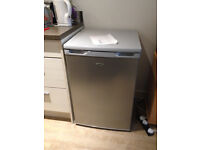 Undercounter Freezer LOGIC Silver - 3 drawers, used, like new - pick up only