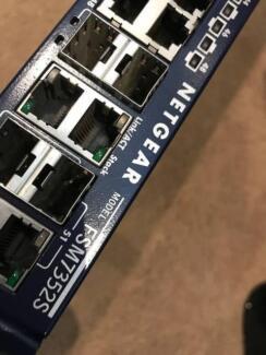 Netgear Fsm7352s Prosafe 48+4 Fast Ethernet L3 Managed Stackable