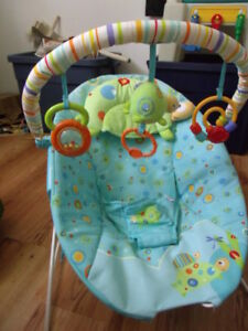 For sale frog infant musical seat with toys