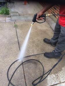 HOC - LARGE HOT WATER PRESSURE WASHER WITH WARRANTY FREE DDELIVERY