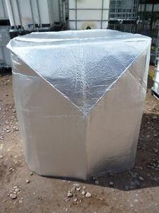 thermoh lle k lteschutzhaube frostschutz neu f r ibc tank regentonne 800 l. Black Bedroom Furniture Sets. Home Design Ideas
