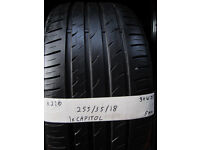K220 1X 255/35/18 94W ZR CAPITOL ECO 007 1X5MM TREAD