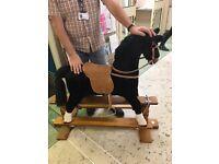 Thorough bred rocking horse