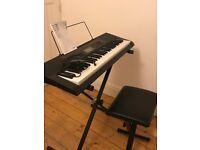 Casio LK-160 Key Lighting Electronic Keyboard