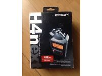 H4N Zoom handy recorder. Perfect condition. Excellent recording quality. Bargain price.