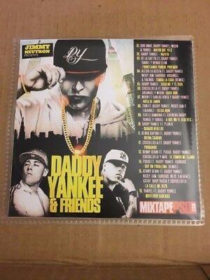 Daddy Yankee And Friends Mixtape Cd Mix Spanish Latin Reggaeton Nicky Jam Wisin