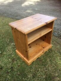 Solid Pine Cabinet for storage TV bedside or books