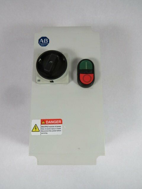 Allen-Bradley 198E-C0C4R Series A Enclosed Combination DOL Starter  USED