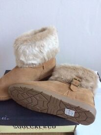 Unworn, new ladies Soulcal boots Size 5