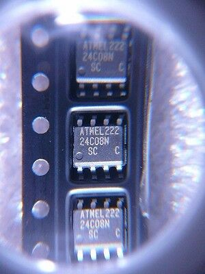Atmel At24c08n-10sc 2-wire Serial Eeprom New 5pkg