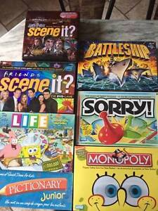 Boards Games Different Kinds