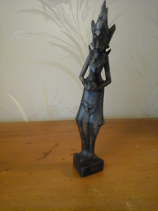 Hand Carved Wooden Figure