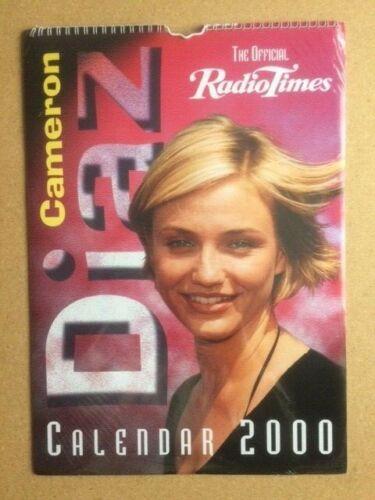 CAMERON DIAZ Original Vintage Official Radio Times Calendar 2000 (SP)