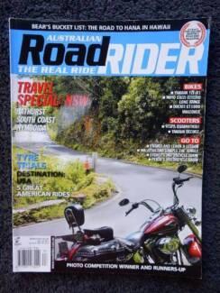 Aust Road Rider, Mar '12; GT1000 YZF-R1 GuzziStelvio Vespa BeeWee