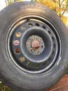 "17"" Steel Snow Tire Rims Cambridge Kitchener Area image 3"