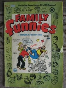 Family Funnies No.1, 1950