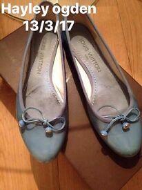 Louis Vuitton ballet pumps