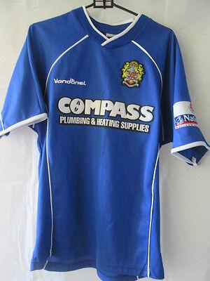 Dagenham and Redbridge 2003-2005 Away Football Shirt Size 11-12 Years /12991 image