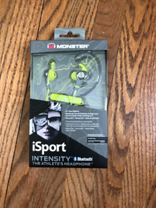 Monster iSport Intensity In-Ear Sound Isolating Bluetooth Headph