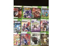 Xbox 360 - 250 GB with Kinect Sensor and 11 game CDs included