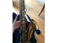 Buescher Aristocrat 'Big B' Tenor Saxophone