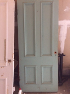 WANTED: 4 Panel old doors