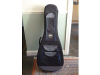 Tribal Planet Rigid Foam Semi Hard Acoustic Guitar Case. Very Large Size. Suit Jumbo, 12 String etc.