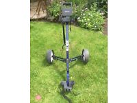 Golfers Club Easiglide fully collapsible golf trolley.