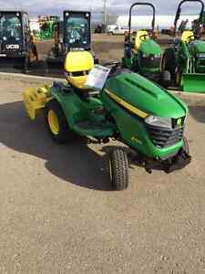 "2016  X580 TRACTOR WITH 54"" DECK AND 42"" HYDRAULIC TILLER Strathcona County Edmonton Area image 2"