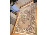 Large Heavy Ornate Rug - Bought from John Lewis