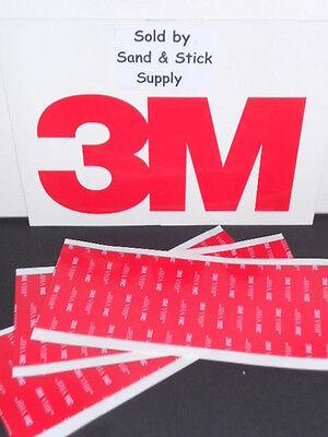 3m 4910 Vhb Clear Foam Double Stick Mounting Tape Sheets 3 3x8 Pcs .040
