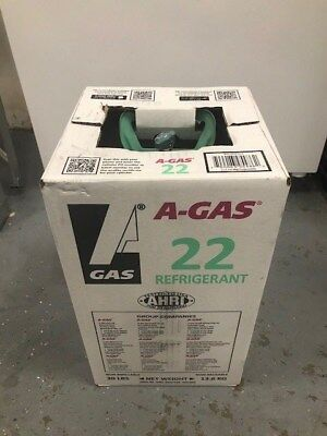 R-22 Refrigerant Sealed 30 Lb Cylinder Free Shipping