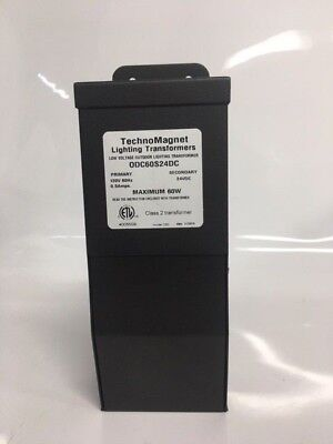 Technomagnet Odc60s24dc Low Voltage Outdoor Lighting Transformer