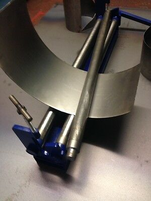 SHEET METAL ROLLER MANUAL ROLLING MACHINE TOP SLIP ROLL BENDING